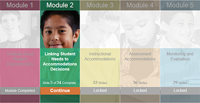 Online Training to Improve Accommodations Decision Making
