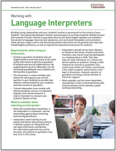 Working with Interpreters: Information for Principals