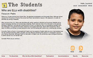 A slide from Learning Modules on English Learners (ELs)with Disabilities
